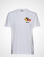 MSGM T-Shirt T-shirts & Tops Short-sleeved Hvit MSGM