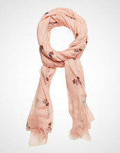 Scotch & Soda Allover Printed Scarf Skjerf Rosa SCOTCH & SODA