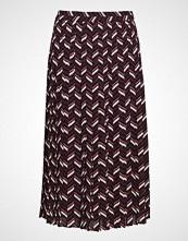 Michael Kors Chevron Pleat Skirt