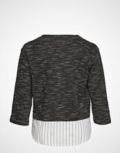 Violeta by Mango Shirt Hem Flecked Sweatshirt