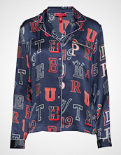 Hilfiger Collection Silk Crest Pyjama Sh