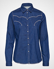 Scotch & Soda A-Shape Western Shirt Langermet Skjorte Blå SCOTCH & SODA