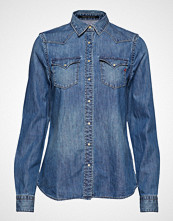 Replay Shirt Langermet Skjorte Blå REPLAY
