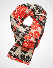 Scotch & Soda Scarf With Floral Jacquard Pattern