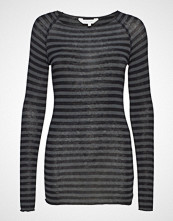 Gai+Lisva Amalie Medium Stripe T-shirts & Tops Long-sleeved Grå GAI+LISVA