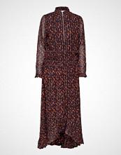 Coster Copenhagen Dress In Seeds Print W. Ruffle