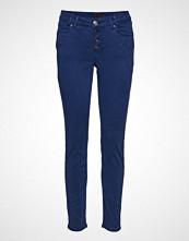 Pulz Jeans Rosario Skinny Pant Ankle Length Skinny Jeans Blå PULZ JEANS