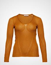 Violeta by Mango V-Neck Ribbed Knit Sweater
