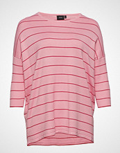 Zizzi Mtheresa 3/4 Blouse T-shirts & Tops Long-sleeved Rosa ZIZZI