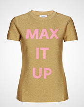 Max & Co. Damiere T-shirts & Tops Short-sleeved Beige MAX&CO.