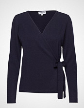 Davida Cashmere Wrap Over Cardigan