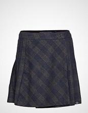 Superdry Josie Pleated Tweed Skirt