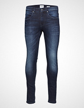 Lindbergh 5 Pocket Stretch Orlando Blue Slim Jeans Blå LINDBERGH
