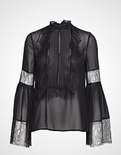 Marciano by GUESS Georgiana Blouse Bluse Langermet Svart MARCIANO BY GUESS