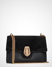 Mango Leather Flap Bag