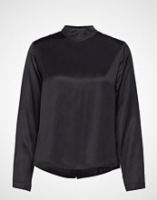Scotch & Soda High Neck Top With Press Buttons At Backpanel