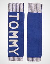 Tommy Hilfiger Fun Logo Knit Handwa Hansker Blå TOMMY HILFIGER