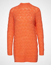 Saint Tropez Pointelle Knit Long Sweater