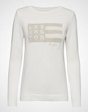 Lexington Clothing Lova Sweater Strikket Genser Hvit LEXINGTON CLOTHING