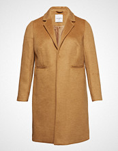 Violeta by Mango Wool Overcoat