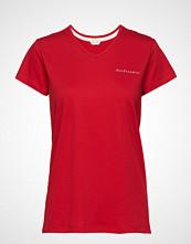 Esprit Bodywear Women Night-T-Shirts T-shirts & Tops Short-sleeved Rød ESPRIT BODYWEAR WOMEN