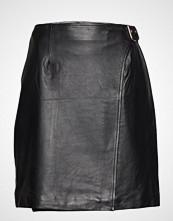 Selected Femme Slfkiki Hw Wrap Leather Skirt W