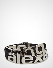 Alexander Wang Metal Letters Belt