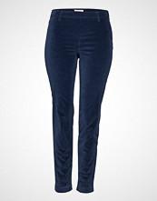 Violeta by Mango Stretch Cotton-Blend Trousers