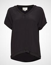 Second Female Joyce Top T-shirts & Tops Short-sleeved Svart SECOND FEMALE