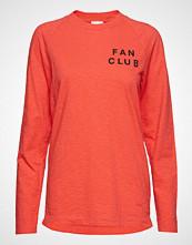 Wood Wood Han Long Sleeve T-shirts & Tops Long-sleeved Rød WOOD WOOD