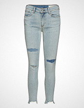 Rag & Bone Ankle Skinny Skinny Jeans Blå RAG & B