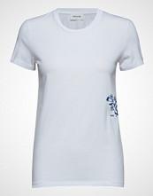 Wood Wood Eden T-Shirt T-shirts & Tops Short-sleeved Hvit WOOD WOOD