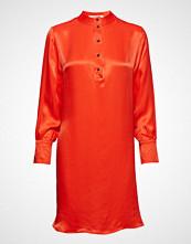 Scotch & Soda Shirt Dress In Viscose Quality Knelang Kjole Rød SCOTCH & SODA