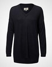 Lexington Clothing Ana Cotton Bamboo Sweater Strikket Genser Blå LEXINGTON CLOTHING