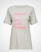 Zadig & Voltaire Bella Tee-Shirt Coton Interlock Print Girls Can Do