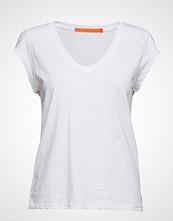 Coster Copenhagen Basic Tee W. V-Neck T-shirts & Tops Short-sleeved Hvit COSTER COPENHAGEN