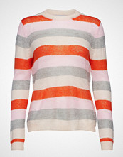 Coster Copenhagen Sweater In Mohair Knit W. Stripes Strikket Genser Hvit COSTER COPENHAGEN