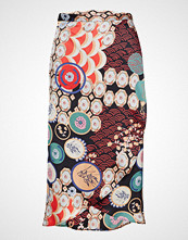by Ti Mo Patchwork Wrap Skirt