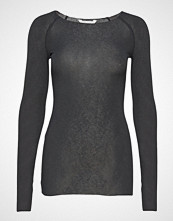 Gai+Lisva Amalie Solid T-shirts & Tops Long-sleeved Svart GAI+LISVA