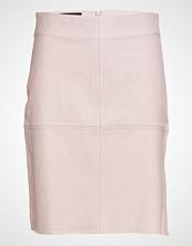Designers Remix Erin Straight Skirt Lb Kort Skjørt Rosa DESIGNERS REMIX