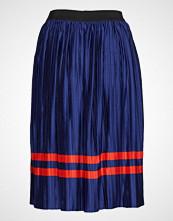Saint Tropez Plisse Skirt W Stripe