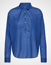Scotch & Soda Light Weight Cotton Shirt Langermet Skjorte Blå SCOTCH & SODA