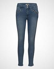 Imitz Capri Pants-Denim Skinny Jeans Blå IMITZ