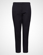 Violeta by Mango Straight Cotton Trousers