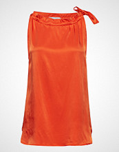Coster Copenhagen Sleeveless Top In Satin Stretch W.