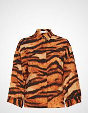 Mango Tiger Print Shirt