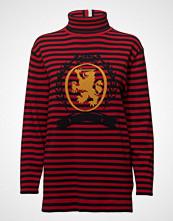 Hilfiger Collection Striped Turtle Neck Sweater Høyhalset Pologenser Rød HILFIGER COLLECTION