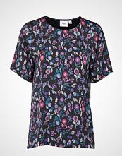 Saint Tropez Small Discoville P T Shirt T-shirts & Tops Short-sleeved Multi/mønstret SAINT TROPEZ