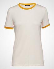 Bruuns Bazaar Katka Elsa Tee T-shirts & Tops Short-sleeved Creme BRUUNS BAZAAR