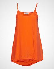 American Vintage Nonogarden Bluse Ermeløs Oransje AMERICAN VINTAGE